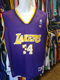 Vintage #34 SHAQUILLE O'NEAL Los Angeles Lakers NBA Champion Jersey 40