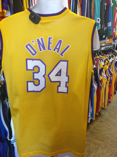 Vintage  34 SHAQUILLE O NEAL Los Angeles Lakers NBA Champion Jersey ... 2efce9ac2
