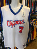 Vintage #7 LAMAR ODOM Los Angeles Clippers NBA Champion Jersey 40