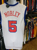 Vintage #5 CUTTINO MOBLEY Los Angeles Clippers NBA Reebok Jersey M