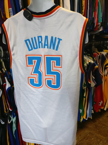 c55af6ce6 Vintage  35 KEVIN DURANT Oklahoma City Thunder NBA Adidas Jersey M ...