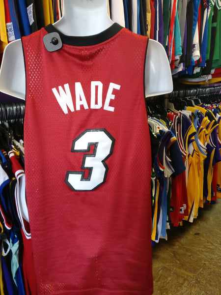 3c91cfa3b Vtg  3 DWYANE WADE Miami Heat NBA Reebok Authentic Jersey M – XL3 ...