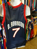 Vtg#7 DAVID ROBINSON USA Dream Team NBA Champion Jersey 40 (Deadstock)