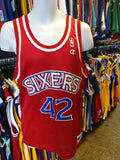 Vintage #42 JERRY STACKHOUSE Philadelphia 76ers NBA Champion Jersey 40