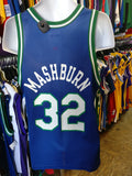Vintage #32 JAMAL MASHBURN Dallas Mavericks NBA Champion Jersey 40