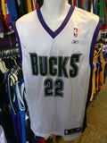 Vintage #22 MICHAEL REDD Milwaukee Bucks NBA Reebok jersey M