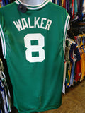 Vintage #8 ANTOINE WALKER Boston Celtics NBA Reebok Jersey M