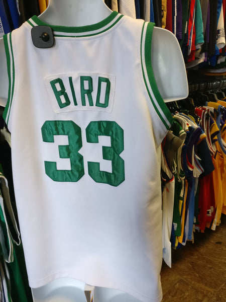 the latest bf6d9 1160c Vtg '85-'86 #33 LARRY BIRD Boston Celtics NBA Mitchell & Ness Jersey M