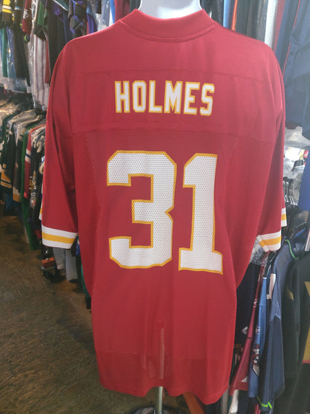 Vtg#31PRIEST HOLMES Kansas City Chiefs NFL Reebok Jersey XL (Deadstock