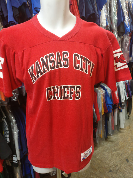 Vintage 80s KANSAS CITY CHIEFS NFL Champion T-Shirt M