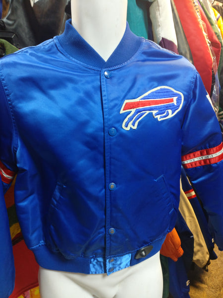 Vintage 90s BUFFALO BILLS NFL Starter Nylon Jacket YL