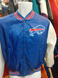 Vintage 90s BUFFALO BILLS NFL Fanimation Chalk Line Jacket 18-20