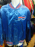 Vintage 80s BUFFALO BILLS  NFL Chalk Line Nylon Jacket XXL