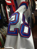 Vintage #28 CJ SPILLER Buffalo Bills NFL Reebok Authentic Jersey 48