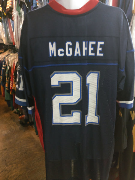 Vtg #21 WILLIS McGAHEE Buffalo Bills NFL Reebok Jersey XL (Deadstock)