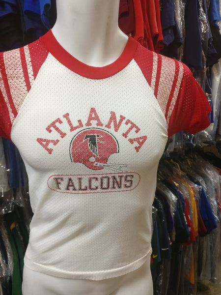Vintage 80s ATLANTA FALCONS NFL Champion Nylon T-Shirt YM