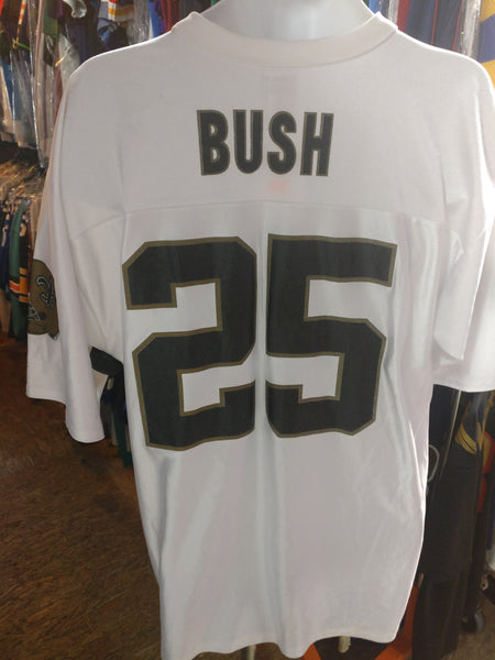 Vintage #25 REGGIE BUSH New Orleans Saints NFL Jersey L