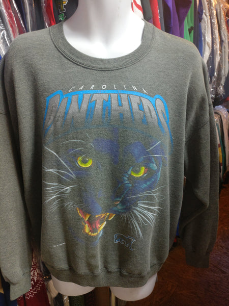 Vintage '93 CAROLINA PANTHERS NFL Salem Sportswear Sweatshirt XL