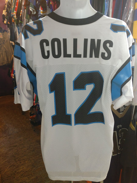 Vintage #12 KERRY COLLINS Carolina Panthers NFL Champion Jersey 44