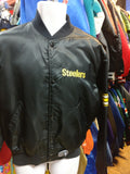 Vintage 90s PITTSBURGH STEELERS NFL Starter Nylon Jacket L
