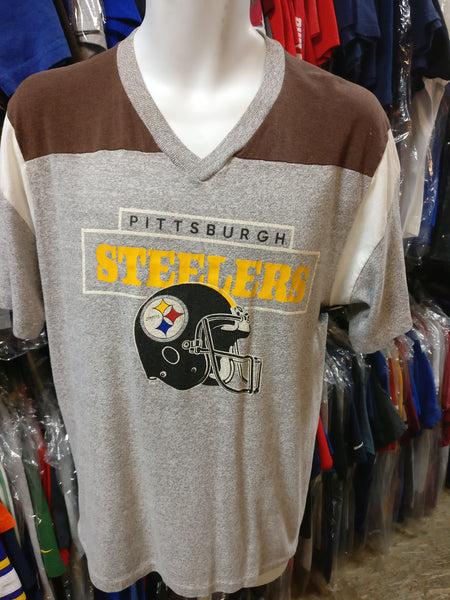 buy popular dc4b7 6fdde Vintage 80s PITTSBURGH STEELERS NFL Champion T-Shirt XL