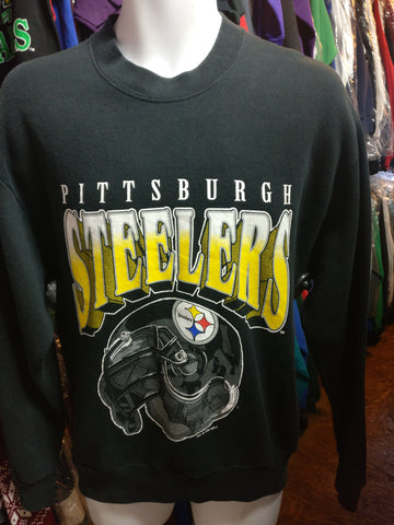Vintage '95 PITTSBURGH STEELERS NFL Chalk Line Sweatshirt M