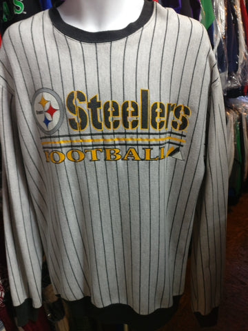 Vintage 90s PITTSBURGH STEELERS NFL Majestic Sweatshirt L