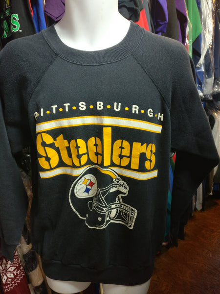 newest 0b42e f90a5 Vintage 80s PITTSBURGH STEELERS NFL Champion Sweatshirt L