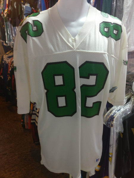 Vtg80s#82 MIKE QUICK Philadelphia Eagles NFL Russell Athletic Jersey L
