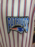 Vintage NEW ENGLAND PATRIOTS NFL Pinstripe Majestic Jersey M