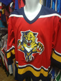 Vintage #4 BRANDON Florida Panthers NHL CCM Jersey M