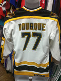 Vintage #77 RAY BOURQUE Boston Bruins NHL CCM Jersey YL/YXL