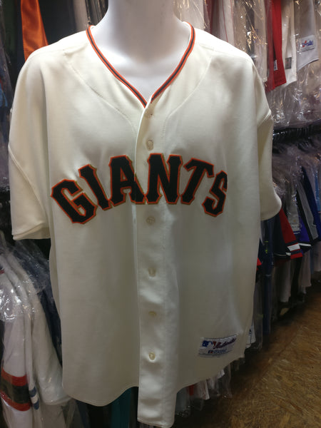 save off b46dc 52f2b Vintage SAN FRANCISCO GIANTS MLB Russell Athletic Authentic Jersey 52