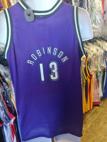Vintage #13 GLENN ROBINSON Milwaukee Bucks NBA Champion Jersey 18-20