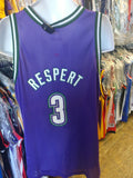 Vintage #3 SHAWN RESPERT Milwaukee Bucks NBA Champion Jersey 48