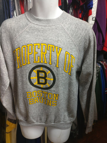 Vintage '90 BOSTON BRUINS NHL Artex Sweatshirt L