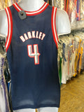 Vintage #4 CHARLES BARKLEY Houston Rockets NBA Champion Jersey 18-20