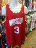 Vintage #3 STEVE FRANCIS Houston Rockets NBA Nike Jersey XL