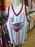 Vtg #3 STEVE FRANCIS Houston Rockets NBA Reebok Authentic Jersey 56