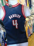 Vintage #4 CHARLES BARKLEY Houston Rockets NBA Champion Jersey 10-12