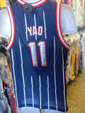 Vintage #11 YAO MING Houston Rockets NBA Nike Jersey YL