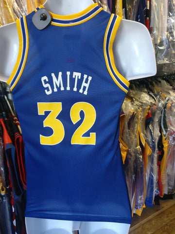 Vintage #32 JOE SMITH Golden State Warriors NBA Champion Jersey 10-12