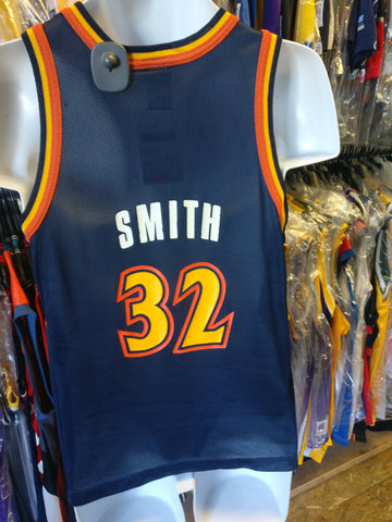 Vintage #32 JOE SMITH Golden State Warriors NBA Champion Jersey 14-16