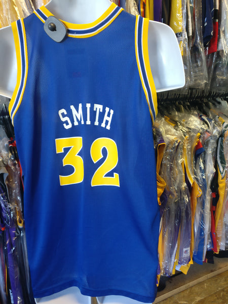 online retailer 67705 487c4 Vintage #32 JOE SMITH Golden State Warriors NBA Champion Jersey 18-20