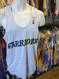 Vintage GOLDEN STATE WARRIORS Champion Warm up Reversible Jersey M