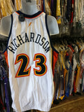 Vtg#23JASON RICHARSON Golden State Warriors Reebok Jersey 48 Deadstock
