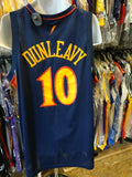 Vintage #10 MIKE DUNLEAVY Golden State Warriors NBA Nike Jersey XXL