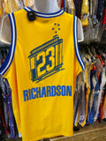Vtg#23JASON RICHARDSON Golden State Warriors NBA Nike Jersey XXL(Mint)