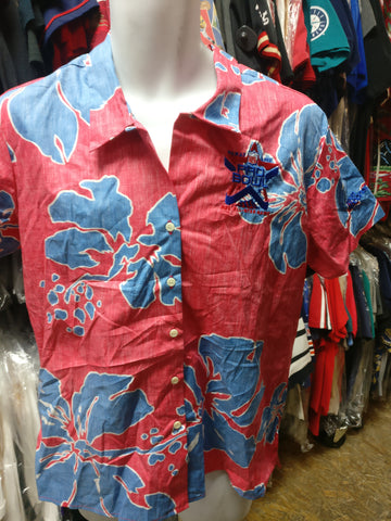0805d5ca165 Vtg 02Women s PRO BOWL All Star Game NFL Reyn Spooner Hawaiian Shirt M