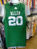 Vintage #20 RAY ALLEN Boston Celtics NBA Adidas Jersey YXL